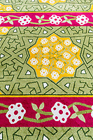 Carpet Design, Masjid Sultan (Sultan Mosque), Kampong Glam, Singapore.