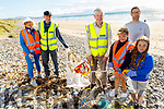 Doing a clean up of the Banna Beach cleanup on Thursday.<br /> Front right: Clodagh Doherty and Elsie, Donal and Daniel Dowling.<br /> Back l to r: Pat and Liz Lawlor.