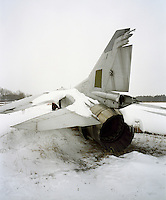 Old decommissioned Polish fighter plane dating back to the Cold War.. CHECK with MRM/FNA