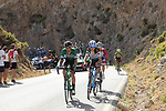 during Stage 4 of the La Vuelta 2018, running 162km from Velez-Malaga to Alfacar, Sierra de la Alfaguara, Andalucia, Spain. 28th August 2018.<br /> Picture: Eoin Clarke   Cyclefile<br /> <br /> <br /> All photos usage must carry mandatory copyright credit (&copy; Cyclefile   Eoin Clarke)