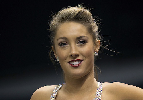 January 02, 2014:  Oklahoma baton twirler Sarah Harris during NCAA Football game action between the Oklahoma Sooners and the Alabama Crimson Tide at Mercedes-Benz Superdome in New Orleans, Louisiana.  Oklahoma defeated Alabama 45-31.