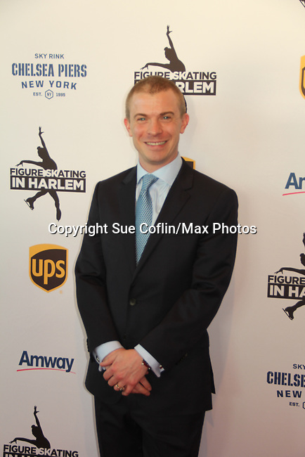 Tim Goebel (2002 Olympic bronze medalist) at Figure Skating in Harlem's Champions in Life (in its 21st year) Benefit Gala recognizing the medal-winning 2018 US Olympic Figure Skating Team on May 1, 2018 at Pier Sixty at Chelsea Piers, New York City, New York. (Photo by Sue Coflin/Max Photo)