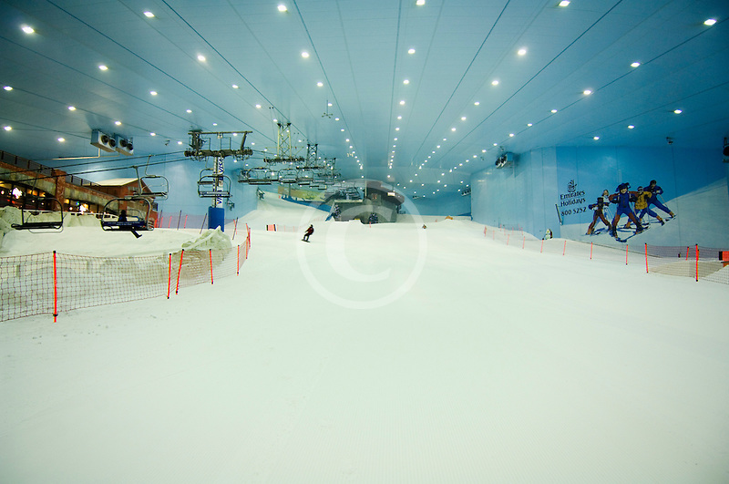 United Arab Emirates, Dubai, Ski Dubai, indoor ski area