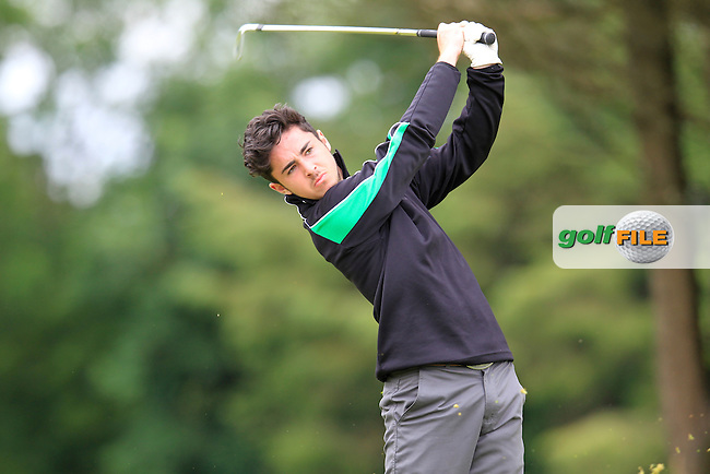 Aaron Bagnell (Millicent) taking part in the Connacht Boys U18 Open, Roscommon Golf Club, Roscommon, Co Roscommon.<br /> Picture: Golffile \ Fran Caffrey