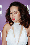 """Fashion designer Chong Cha arrives at the Alvin Ailey American Dance Theater """"Modern American Songbook"""" opening night gala benefit at the New York City Center on November 29, 2017."""