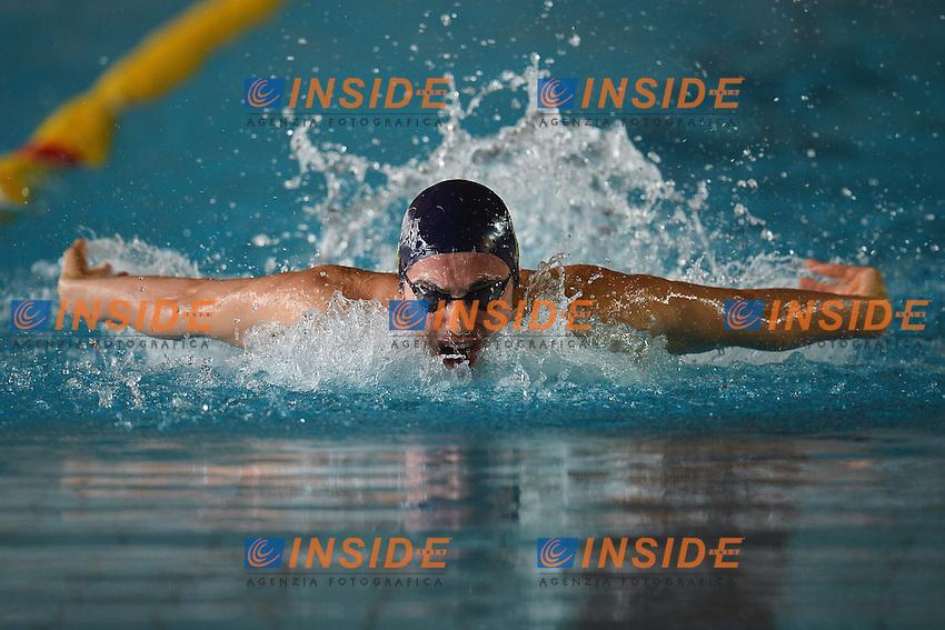 Piero Codia 100m Farfalla Uomini.Riccione 10/04/2013 .Campionati Italiani Assoluti Nuoto Primaverili 2013.Foto Andrea Staccioli Insidefoto