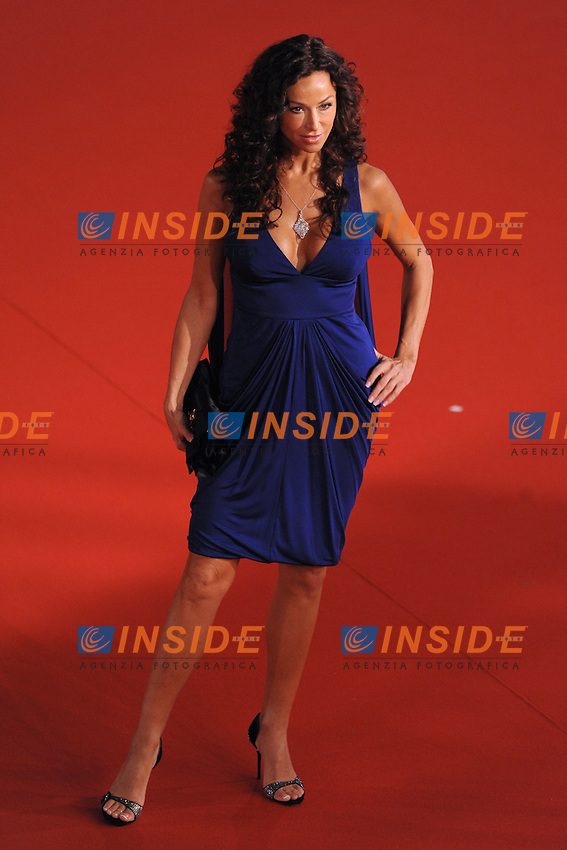 Sophia Milos arrives at the Marc'Aurelio acting award during the 3rd Rome International film Festival held at the Auditorium Parco della Musica on October 22, 2008 in Rome Italy.<br /> Foto Andrea Staccioli Insidefoto