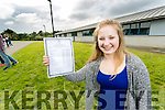 Laura Harty, Caherslee, Tralee, attending Mercy Mounthawk Secondary School, Tralee, who received a fantastic 11 A's in her Junior Certificate results on Wednesday morning.