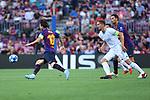 UEFA Champions League 2018/2019 - Matchday 1.<br /> FC Barcelona vs PSV Eindhoven: 4-0.<br /> Lionel Messi vs Luuk de Jong.
