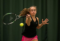 The Hague, The Netherlands, March 17, 2017,  De Rhijenhof, NOJK 14/18 years, Bente Spee (NED)<br /> Photo: Tennisimages/Henk Koster