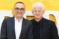 "LONDON, UK. June 18, 2019: Danny Boyle and Richard Curtis arriving for the UK premiere of ""Yesterday"" at the Odeon Luxe, Leicester Square, London.<br /> Picture: Steve Vas/Featureflash"