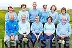 The Castlegreogary Golf Club playing in the 9&rsquo;s of Kerry Golf competition in Ballybunion GC on Saturday.<br /> Front l-r, Tom Lean, Eddie Hannafin, Pat Dooly, Marilyn O&rsquo;Connor and Tom Moriarty.<br /> Back l-r, Tina Moriarty, Theresa Rice, Stephen Neillings, Carol Shanahan, Edel Randles and Margaret McCarthy.