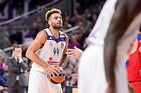 Real Madrid's Jeffery Taylor during Turkish Airlines Euroleague match between Real Madrid and CSKA Moscow at Wizink Center in Madrid, Spain. January 06, 2017. (ALTERPHOTOS/BorjaB.Hojas)
