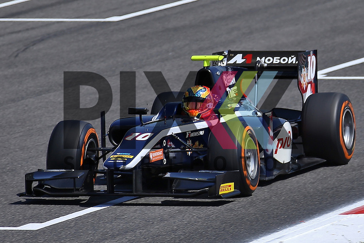 Barcelona, 08.05.15, Motorsport, GP2 Series Barcelona 2015 : Artem Markelov (Russian Time, #10)<br /> <br /> Foto &copy; P-I-X.org *** Foto ist honorarpflichtig! *** Auf Anfrage in hoeherer Qualitaet/Aufloesung. Belegexemplar erbeten. Veroeffentlichung ausschliesslich fuer journalistisch-publizistische Zwecke. For editorial use only.