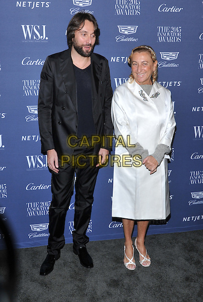 New York,NY-November 4: Miuccia Prada attend the WSJ. Magazine 2015 Innovator Awards at the Museum of Modern Art on November 4, 2015 in New York City. <br /> CAP/MPI/STV<br /> &copy;STV/MPI/Capital Pictures