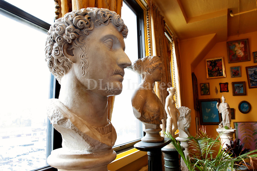 marble busts