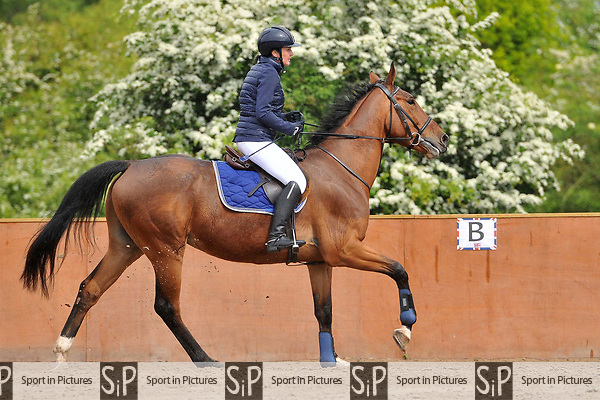 Class 3. Unaffiliated showjumping. Eastminster school of riding. Romford. Essex. 01/05/2017. MANDATORY Credit Ellen Szalai/Sportinpictures - NO UNAUTHORISED USE - 07837 394578