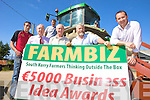 IT'S THE BUSINESS: Launching the South Kerry Development Partnership Farmbiz competition in Kilcummin on Thursday last with runners-up from 2008, Trevor Flynn and John Foley were, front l-r: Tom Shanahan (Teagasc), Donal Counihan (SKDP Agriculture Committee), Johnny O'Connor (SKDP Agriculture Chairman), Emmet Spring (SKDP Rural Development Officer). Back l-r: Trevor Flynn, John Foley.