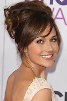LOS ANGELES, CA - JANUARY 09: Nikki Deloach at the 39th Annual People's Choice Awards at Nokia Theatre L.A. Live on January 9, 2013 in Los Angeles, California. Credit: mpi21/MediaPunch Inc. /NORTEPHOTO