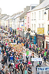 St Patricks Day Parade, Listowel: The parade in Listowel comin down Church St.