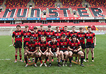 The Ennis team before their U-18 Munster Club Final against Garryowen at Thomond Park. Photograph by John Kelly.