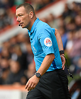 Match referee Kevin Friend<br /> <br /> Photographer David Horton/CameraSport<br /> <br /> The Premier League - Bournemouth v Sheffield United - Saturday 10th August 2019 - Vitality Stadium - Bournemouth<br /> <br /> World Copyright © 2019 CameraSport. All rights reserved. 43 Linden Ave. Countesthorpe. Leicester. England. LE8 5PG - Tel: +44 (0) 116 277 4147 - admin@camerasport.com - www.camerasport.com