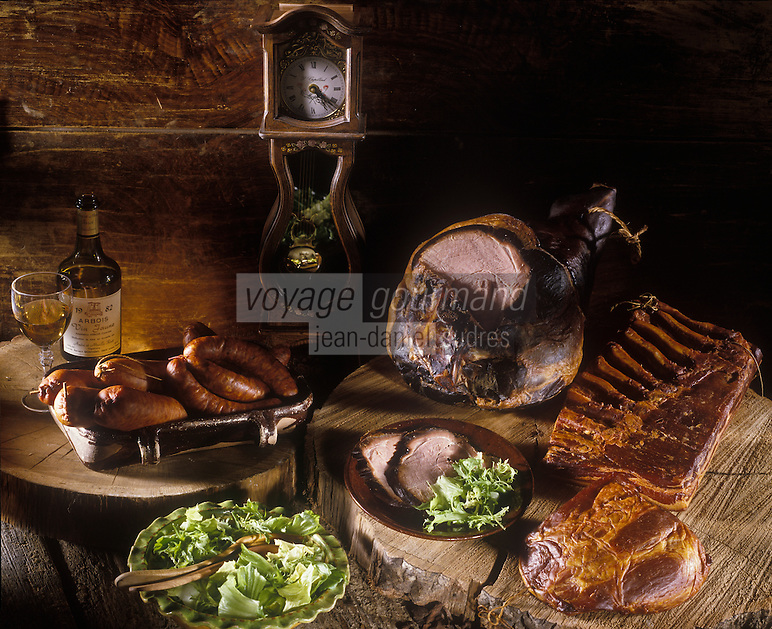 Gastronomie générale/Franche-Comté:  Charcuteries du Jura et Vin Jaune