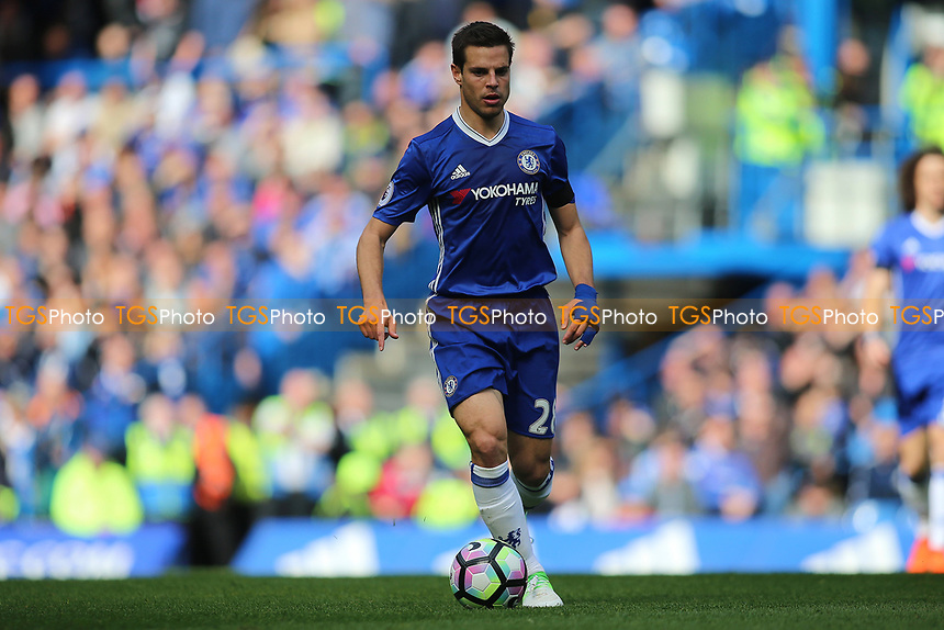 Cesar Azpilicueta of Chelsea during Chelsea vs Crystal Palace, Premier League Football at Stamford Bridge on 1st April 2017