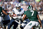 16FTB at Michigan State 0444<br /> <br /> 16FTB at Michigan State<br /> <br /> BYU Football at Michigan State<br /> <br /> BYU-31<br /> MSU-14<br /> <br /> October 8, 2016<br /> <br /> Photo by Jaren Wilkey/BYU<br /> <br /> &copy; BYU PHOTO 2016<br /> All Rights Reserved<br /> photo@byu.edu  (801)422-7322