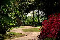 Brumadinho_MG, Brasil...Centro de Arte Contemporanea Inhotim (CACI). Na foto a obra de Lafur Eliasson, By Means of a Sudden Intuitive Realization. ..The Inhotim Contemporary Art Center (CACI). In this photo the art of Llafur Eliasson, By Means of a Sudden Intuitive Realization. ..Foto: BRUNO MAGALHAES / NITRO..