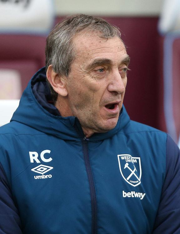 West Ham United's Assistant Coach Ruben Cousillas<br /> <br /> Photographer Rob Newell/CameraSport<br /> <br /> Emirates FA Cup Third Round - West Ham United v Birmingham City - Saturday 5th January 2019 - London Stadium - London<br />  <br /> World Copyright © 2019 CameraSport. All rights reserved. 43 Linden Ave. Countesthorpe. Leicester. England. LE8 5PG - Tel: +44 (0) 116 277 4147 - admin@camerasport.com - www.camerasport.com