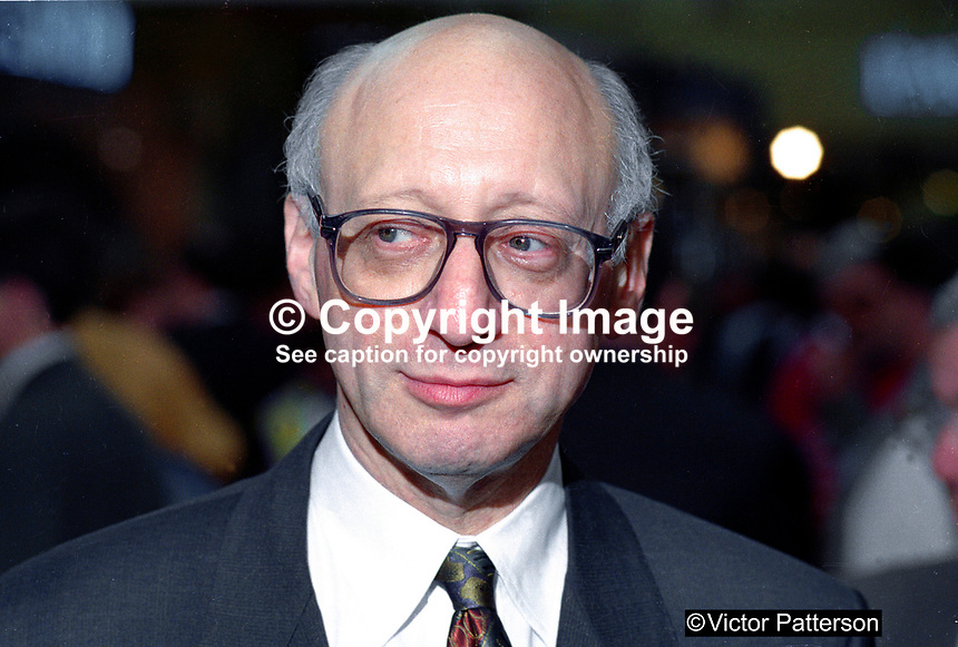 Gerald Kaufman, MP, Labour Party, UK, annual conference, 199409056b.<br />