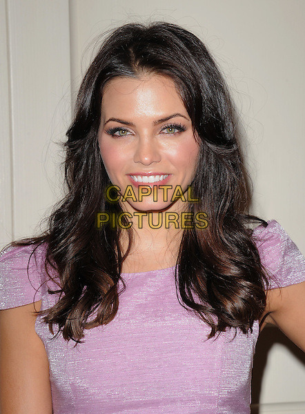 JENNA DEWAN .at The The Beauty Detox Solution by Kimberly Snyder held at The London in West Hollywood, California, USA, .April 13th 2011..portrait headshot smiling beauty  purple lilac make-up eyelashes .CAP/RKE/DVS.©DVS/RockinExposures/Capital Pictures.