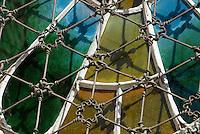 Spanien, Barcelona, Krypta in der Colonia Güell von Antoni Gaudi, Unesco-Weltkulturerbe