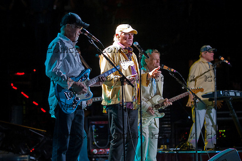 THE BEACH BOYS - David Marks, Mike Love, Al Jardine, Bruce Johnston - performing live at Verizon Wireless Amphitheatre in Irvine, CA USA - June 3, 2012.  Photo: © Kevin Estrada / Iconicpix