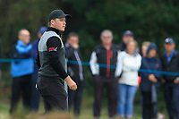 Eddie Pepperell (ENG) on the 12th green during Round 1of the Sky Sports British Masters at Walton Heath Golf Club in Tadworth, Surrey, England on Thursday 11th Oct 2018.<br /> Picture:  Thos Caffrey | Golffile<br /> <br /> All photo usage must carry mandatory copyright credit (© Golffile | Thos Caffrey)