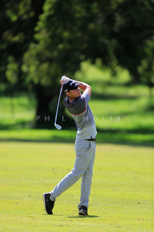 Anton Karlsson (SWE) during the third round of the Barclays Kenya Open played at Muthaiga Golf Club, Nairobi, Kenya 22nd - 25th March 2018 (Picture Credit / Phil Inglis) 22/03/2018<br /> <br /> <br /> All photo usage must carry mandatory copyright credit (&copy; Golffile | Phil Inglis)