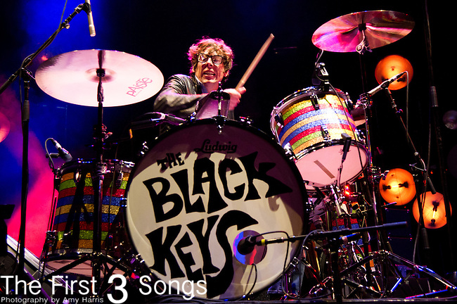 Patrick Carney of The Black Keys performs during the The Beale Street Music Festival in Memphis, Tennessee.