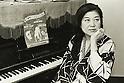 Undated - Yoshiko Ishii was a Japanese chanson singer, essayist, industrialist. (Photo by Koichi Saito/AFLO)