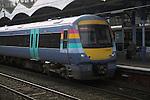 Turbostar train Ipswich railway station, Suffolk, England