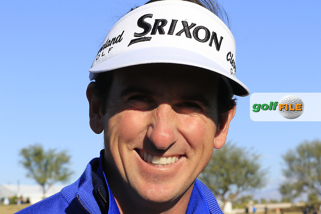Gonzalo Fernandez-Castano (ESP) delighted to be back on the PGA Tour during Saturday's Round 3 of the 2017 CareerBuilder Challenge held at PGA West, La Quinta, Palm Springs, California, USA.<br /> 21st January 2017.<br /> Picture: Eoin Clarke | Golffile<br /> <br /> <br /> All photos usage must carry mandatory copyright credit (&copy; Golffile | Eoin Clarke)