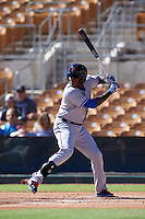Surprise Saguaros designated hitter Jurickson Profar (9) at bat during an Arizona Fall League game against the Glendale Desert Dogs on October 24, 2015 at Camelback Ranch in Glendale, Arizona.  Surprise defeated Glendale 18-3.  (Mike Janes/Four Seam Images)