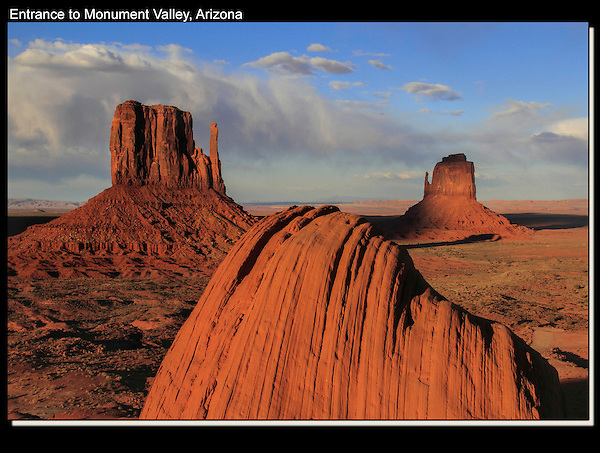 Monument Valley Navajo Tribal Park, Arizona.<br />