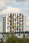 New residential development, Stratford, London, England
