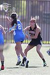 Santa Barbara, CA 02/18/12 - Brooks Leavell (Georgia #28) in action against UCLA at the 2012 Santa Barbara Shootout.  Georgia defeated UCLA 14-6.