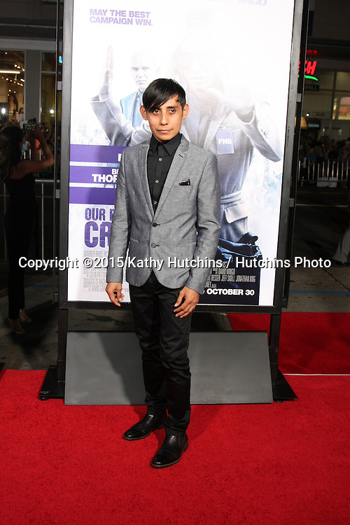 """LOS ANGELES - OCT 26:  Luis Chavez at the """"Our Brand is Crisis"""" LA Premiere at the TCL Chinese Theater on October 26, 2015 in Los Angeles, CA"""