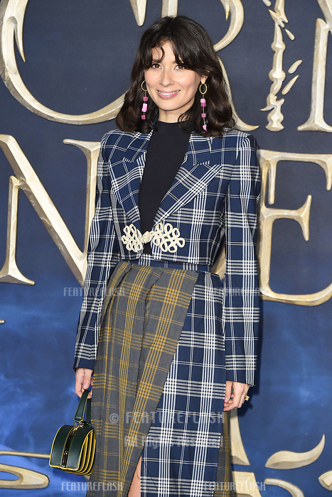 LONDON, UK. November 13, 2018: Jessica Helmsley at the &quot;Fantastic Beasts: The Crimes of Grindelwald&quot; premiere, Leicester Square, London.<br /> Picture: Steve Vas/Featureflash