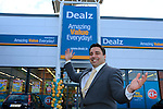 Store Manager Ash Puri at the opening of the Dealz new store in Lakeland retail Park, Cavan.<br /> <br /> Picture Fran Caffrey /Newsfile