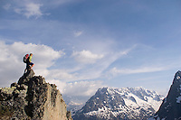 French Alps Hiking