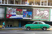 HAVANA, CUBA, 23.07.2015 –  Vista da rua La rampa na cidade de Havana em Cuba. (Foto: Paulo Lisboa/Brazil Photo Press)